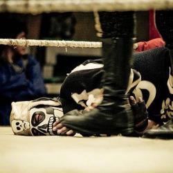 Skeleton Wrestler